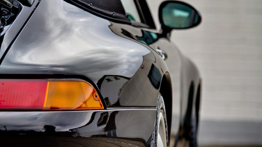 nanotol Nanoversiegelung auf Porsche